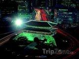 Osvětlená brána Namdemun