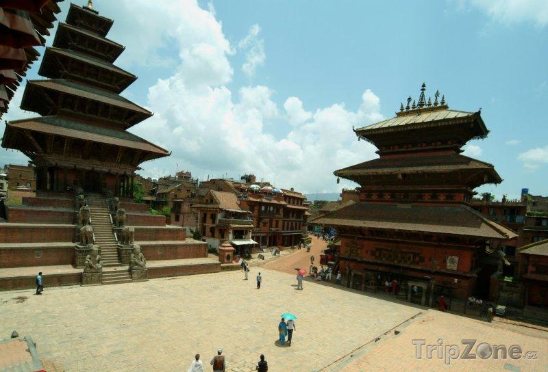 Fotka, Foto Pagody v chrámu Nyatapola (Nepál)