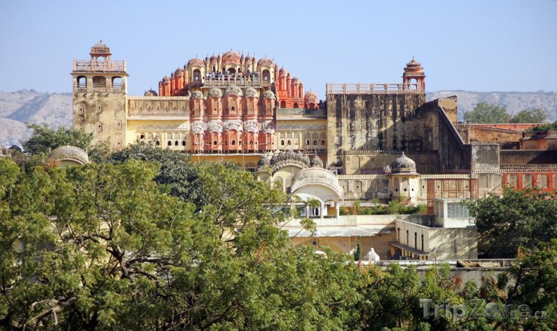 Fotka, Foto Palác Hawa Mahal v Rajasthanu (Indie)