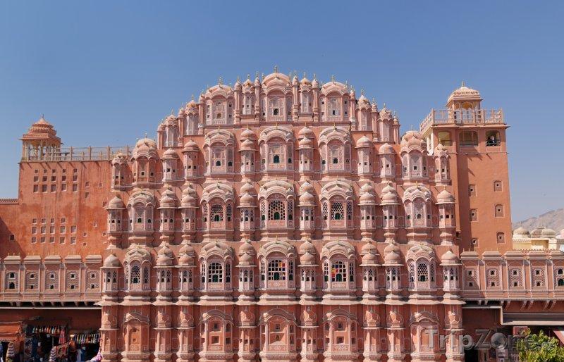Fotka, Foto Palác Hawa Mahal (Indie)