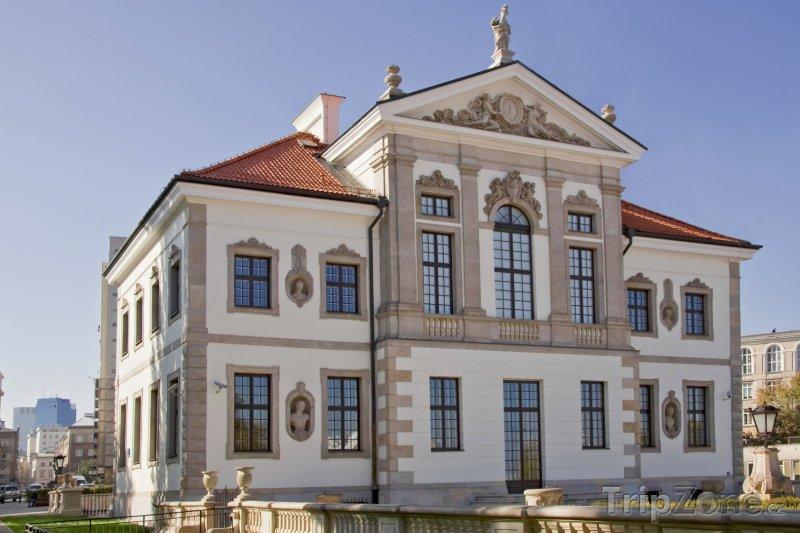 Fotka, Foto Palác Ostrogski, muzeum F. Chopina (Varšava, Polsko)