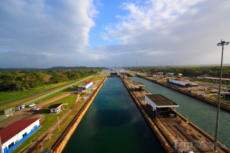 Fotka, Foto Panamský průplav (Panama)