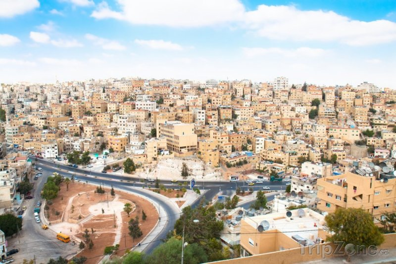 Fotka, Foto Panoráma Ammánu (Jordánsko)