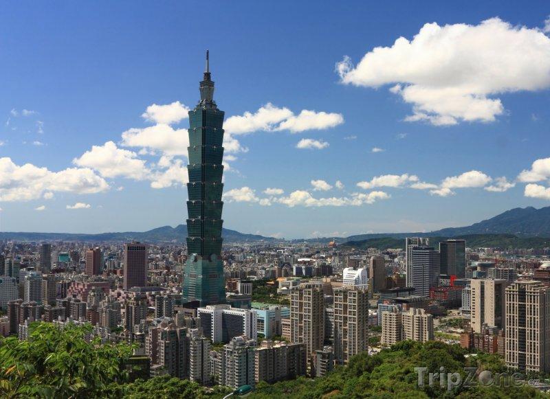 Fotka, Foto Panoráma města Taipei (Tchaj-wan)
