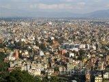 Panoramatický pohled na město Káthmándú