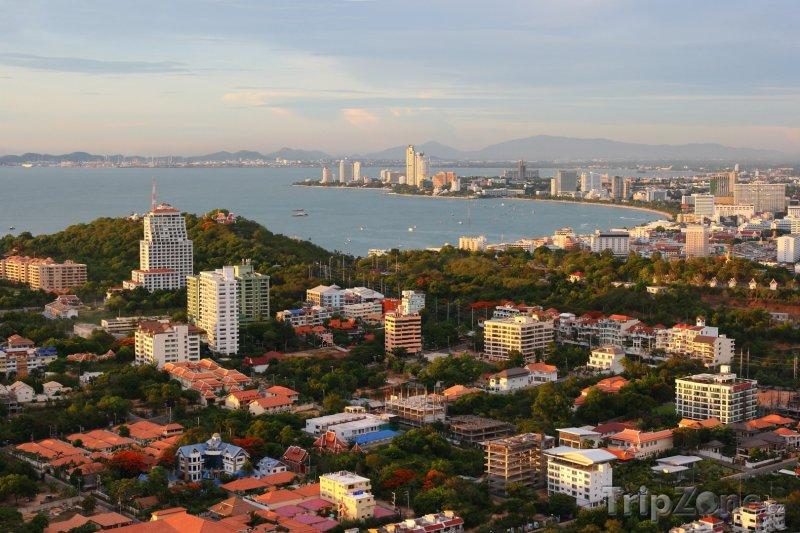 Fotka, Foto Panoramatický pohled na město (Pattaya, Thajsko)