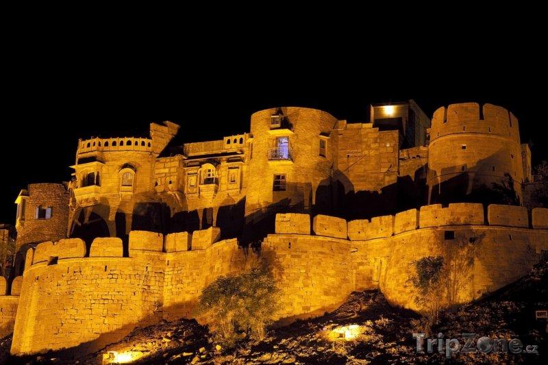 Fotka, Foto Pevnost Jaisalmer (Indie)