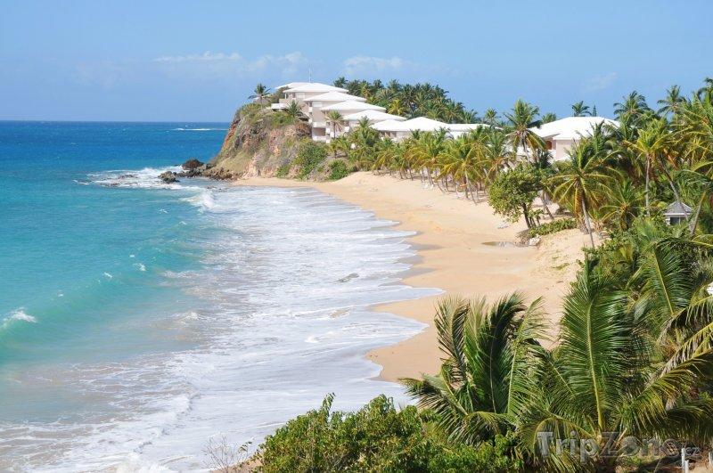 Fotka, Foto Pláž na ostrově Antigua (Antigua a Barbuda)