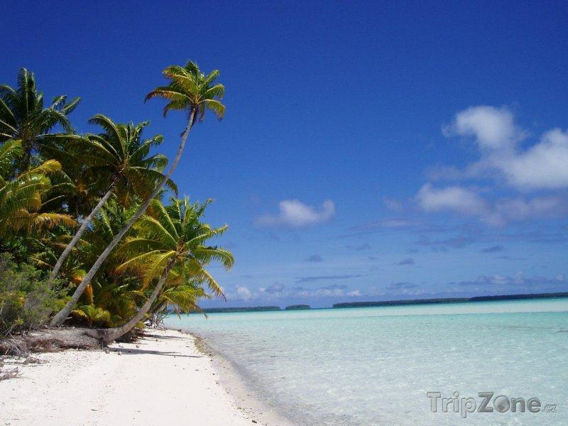 Fotka, Foto Pláž na ostrově Tetiaora (Francouzská Polynésie)