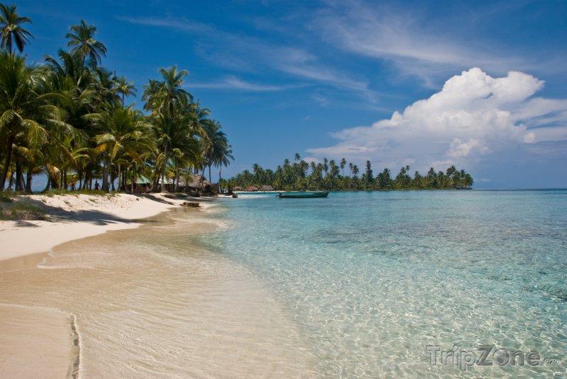Fotka, Foto Pláž ostrova San Blas (Panama)