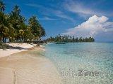 Pláž ostrova San Blas
