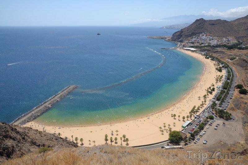 Fotka, Foto Pláž Playa de Las Teresitas (Tenerife, Španělsko)