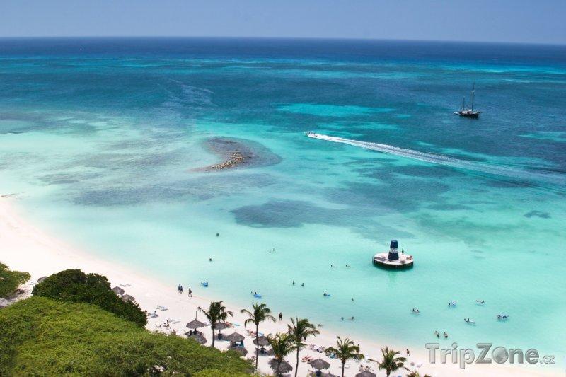 Fotka, Foto Pláž ve městě Palm Beach (Aruba)