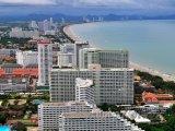 Pobřeží města Pattaya