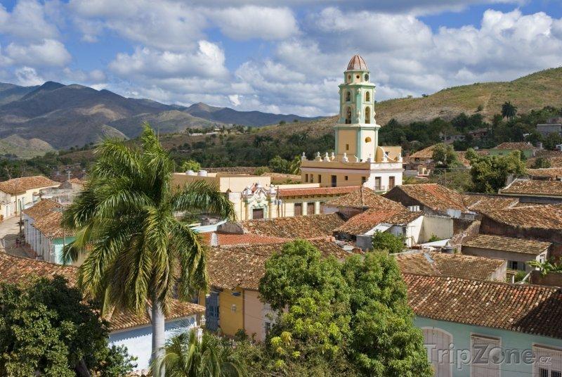 Fotka, Foto Pohled na město Trinidad (Kuba)