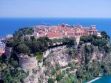 Pohled na Monaco-Ville