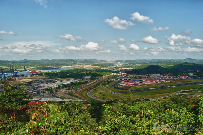Fotka, Foto Pohled na Panama City (Panama)