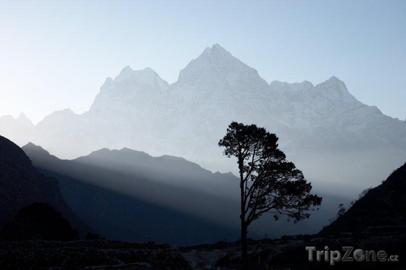 Fotka, Foto Pohled na pohoří Himálaj (Nepál)