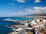 Pohled na přístav Rethymno