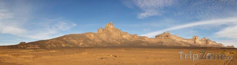 Fotka, Foto Pohoří Acacus na Sahaře (Libye)