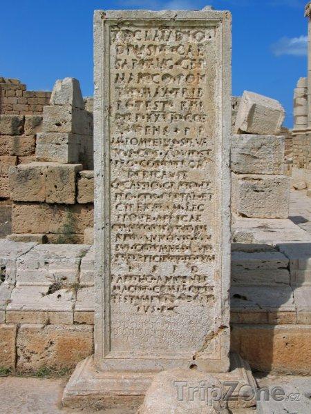 Fotka, Foto Pomník ve starověkém městě Laptis Magna (Libye)