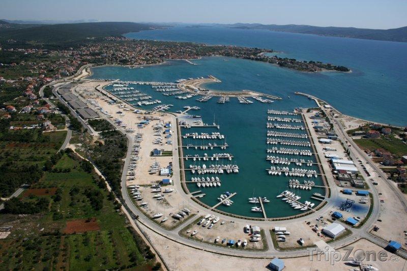 Fotka, Foto Přístav v Sukošanu (Zadar, Chorvatsko)