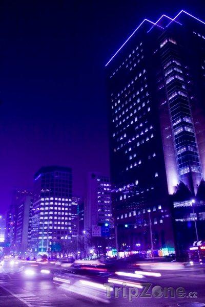 Fotka, Foto Provoz nočním Soulem (Jižní Korea)