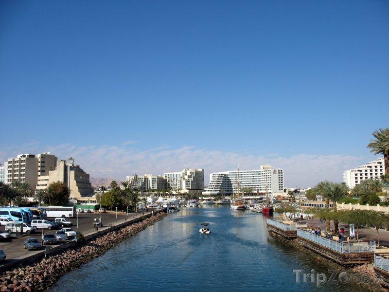 Fotka, Foto Průplav do přístavu (Ejlat, Izrael)