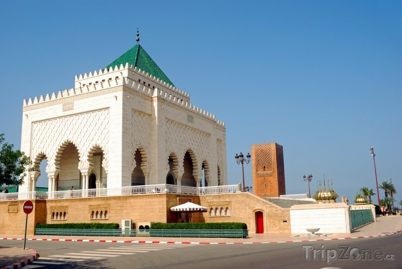 Fotka, Foto Rabat, mauzoleum Mohameda V. (Maroko)