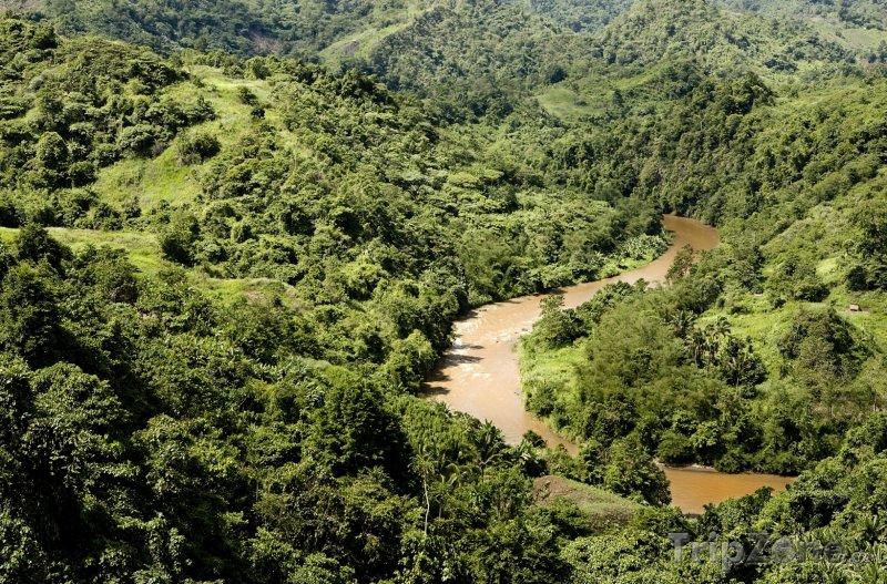 Fotka, Foto Řeka Agusan na ostrově Mindanao (Filipíny)