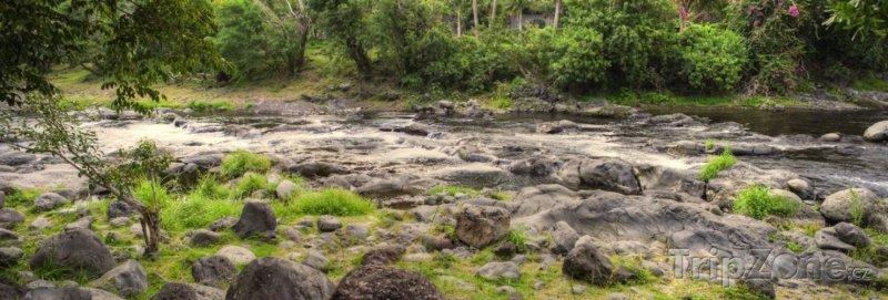 Fotka, Foto Řeka Langevin (Réunion)