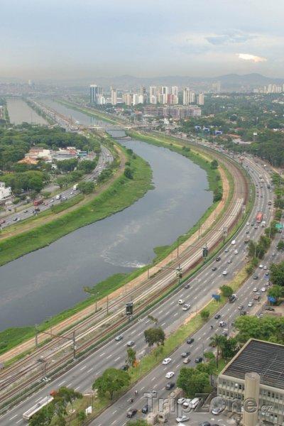 Fotka, Foto Řeka Pinheiros (Sao Paulo, Brazílie)