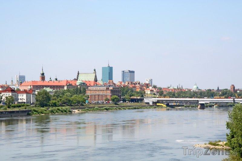 Fotka, Foto Řeka Visla (Varšava, Polsko)