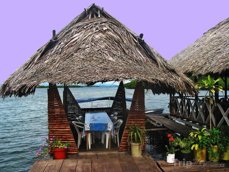Fotka, Foto Restaurace na moři (Panama)