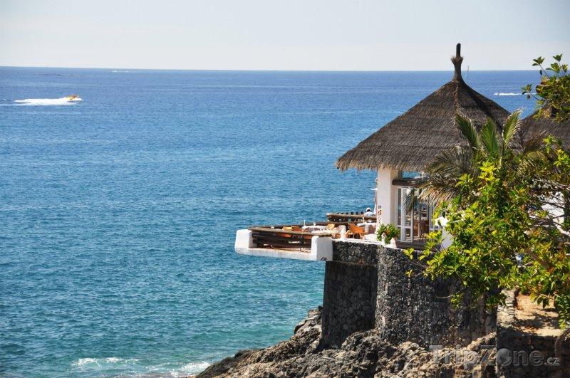 Fotka, Foto Restaurace nad oceánem (Tenerife, Španělsko)