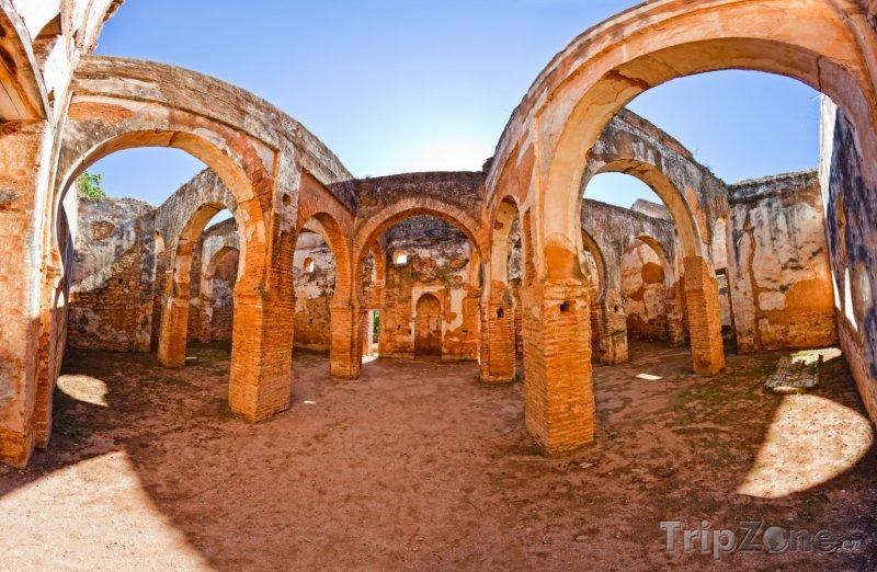 Fotka, Foto Ruiny pohřebiště Chellah (Rabat, Maroko)