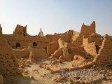 Ruiny u města Diriyah