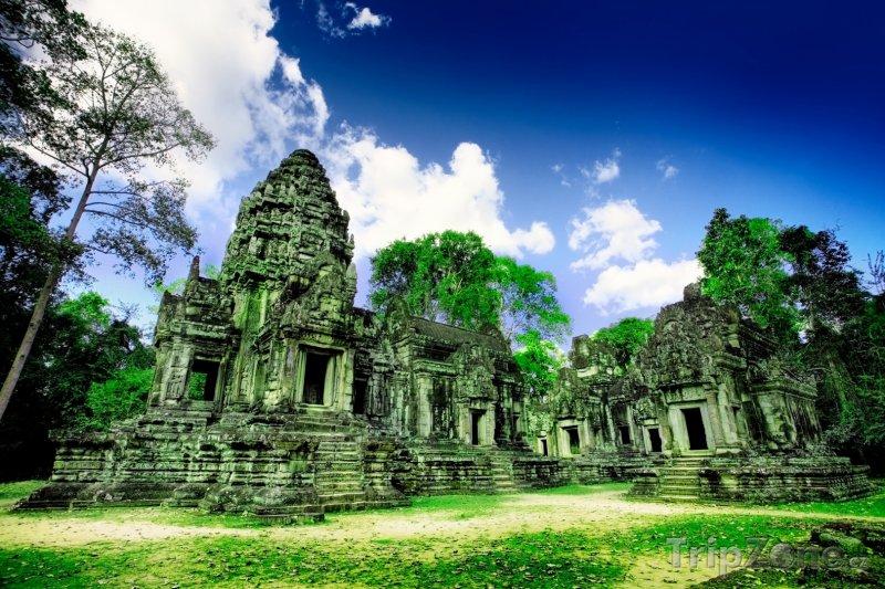 Fotka, Foto Ruiny v nalezišti Angkor (Kambodža)