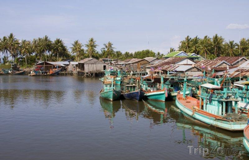 Fotka, Foto Rybářská vesnička (Kambodža)