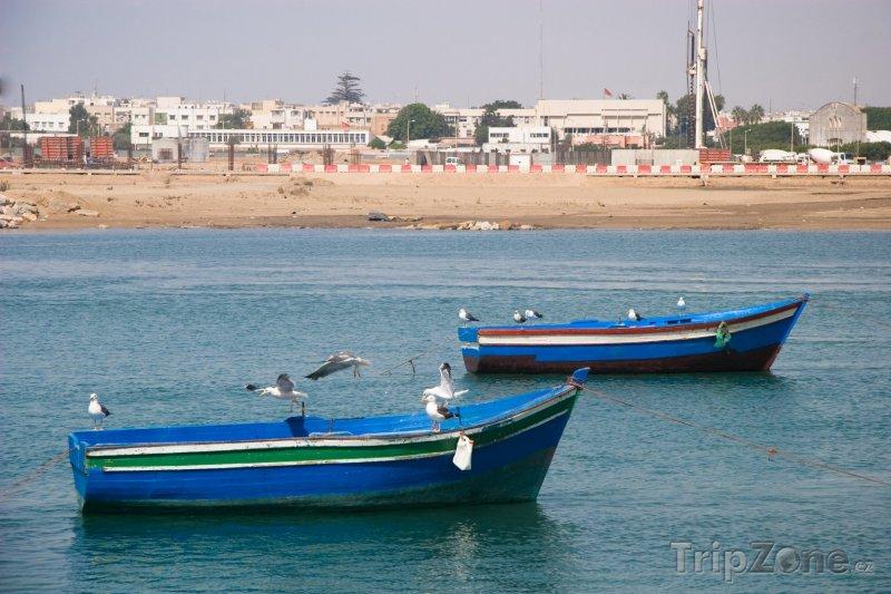 Fotka, Foto Rybářské lodě (Rabat, Maroko)