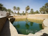 Rybníček ve městě Ghadames