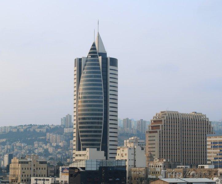 Fotka, Foto Sail Tower (Haifa, Izrael)