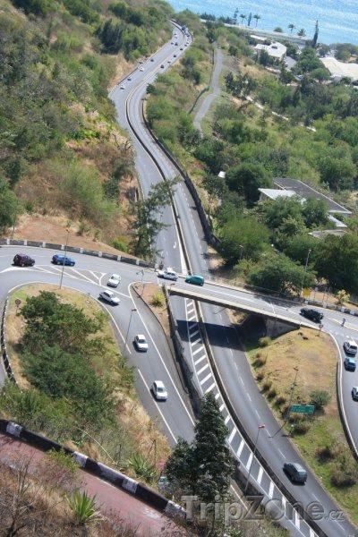 Fotka, Foto Silnice na ostrově Réunion (Réunion)