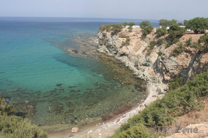 Fotka, Foto Skalnaté pobřeží (Pafos, Kypr)