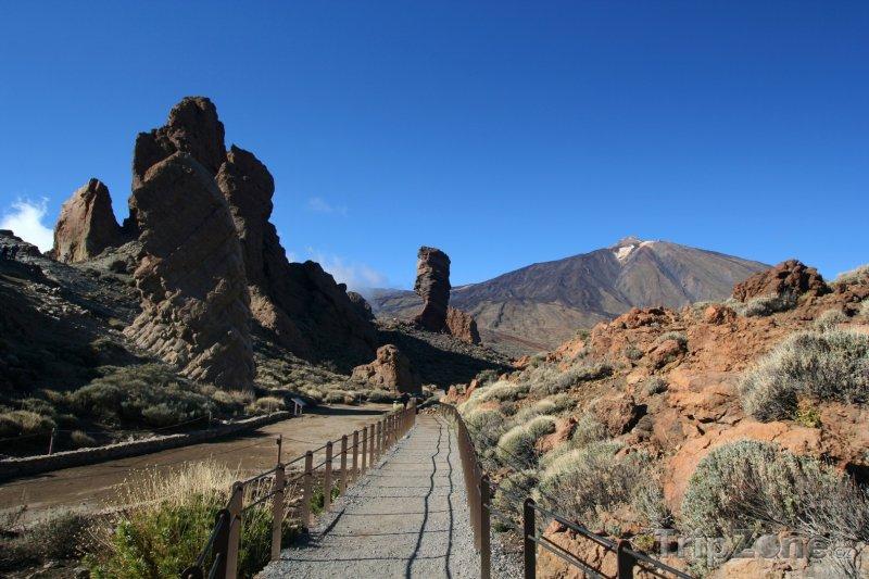 Fotka, Foto Skály Cinchado pod vulkánem Teide (Tenerife, Španělsko)