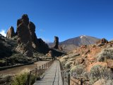 Skály Cinchado pod vulkánem Teide