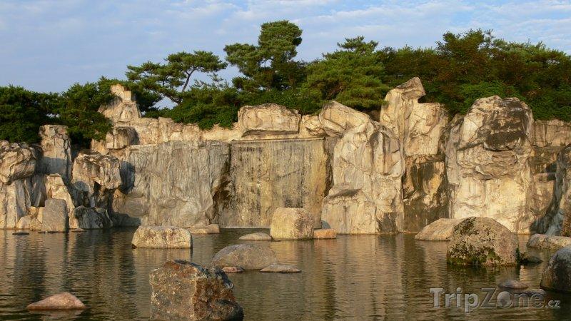 Fotka, Foto Skály v parku Goyang (Jižní Korea)