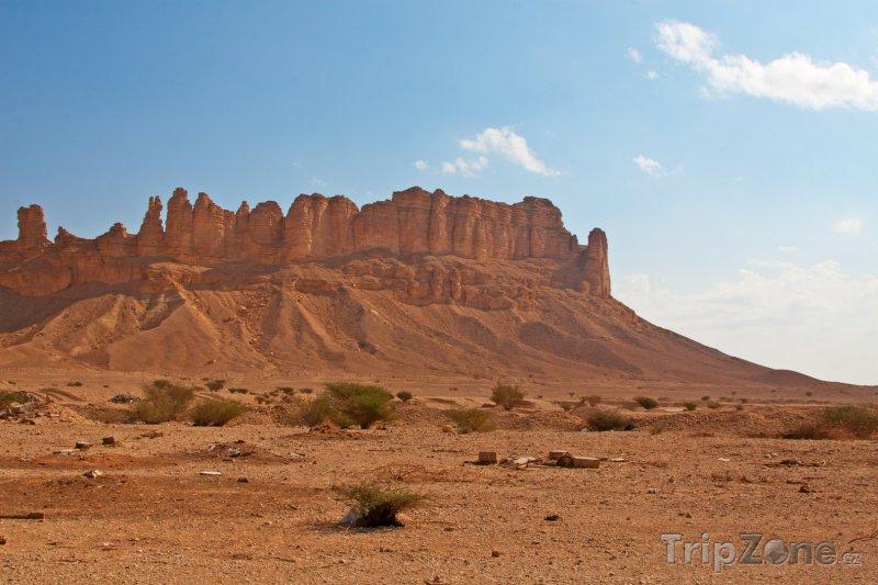 Fotka, Foto Skály v poušti (Saúdská Arábie)