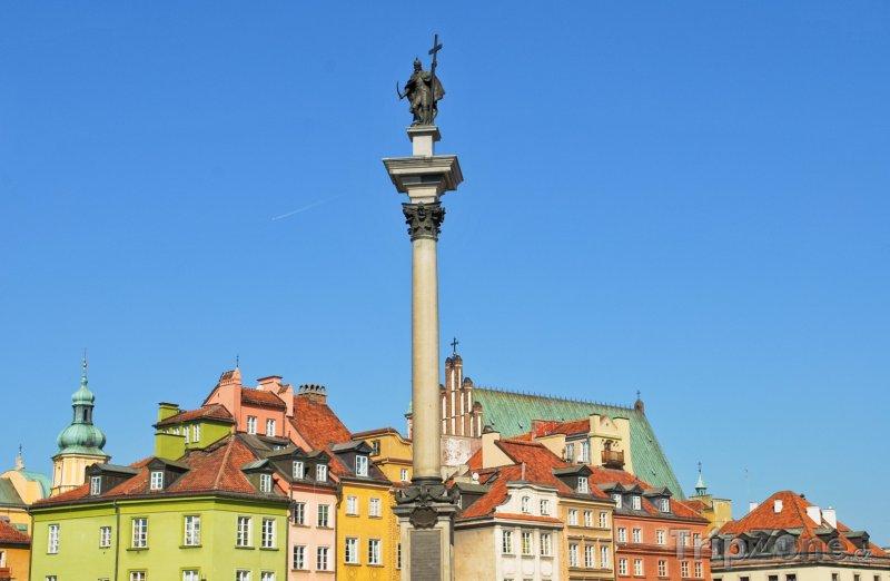 Fotka, Foto Sloup krále Zikmunda III. (Varšava, Polsko)