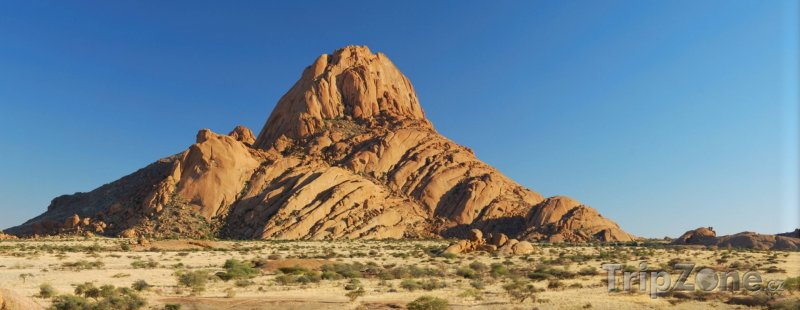 Fotka, Foto Spitzkoppe, žulová hora v poušti Namib (Namibie)